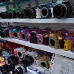 Акихабара. Магазин фототехники. 100 цветов Pentax