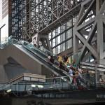 Эскалаторы на станции Киото