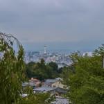 Вид на Киото с горы