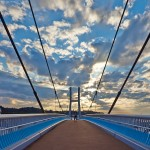 Мост пешеходный