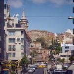 Улица и Галатская башня