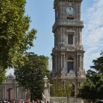 Башня у дворца Долмабахче