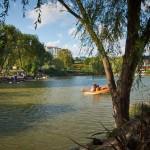 Озеро ботанического сада