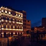 Здания ночью