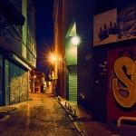 Пустой переулок