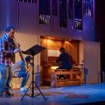 Органно-джазовый поэтический спектакль «Щегол»